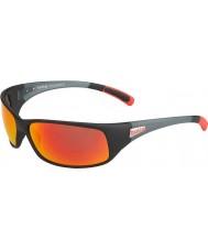 Bolle 12438 Odrzuć czarne okulary przeciwsłoneczne