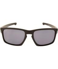 Oakley Oo9262-01 taśmy czarny matowy - szare okulary