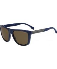 HUGO BOSS Mężczyźni Boss 0834-S hwq sp niebieskie okulary polaryzacyjne