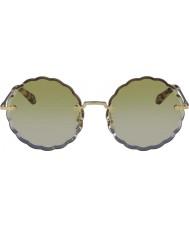 Chloe Damskie okulary przeciwsłoneczne ce142s 817 60 rosie