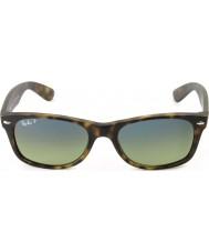 RayBan Rb2132 55 new wayfarer matowy szylkret 894-76 spolaryzowane okulary