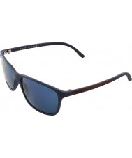 Polo Ralph Lauren Ph4092 58 matowy niebieski 550680 okulary