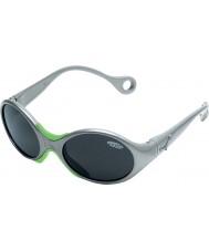 Cebe 1973 (w wieku 1-3) błyszczące metaliczny szary 2000 szare okulary