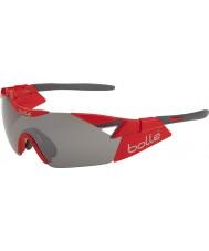 Bolle 6th Sense s błyszczące czerwone TNS pistolet okulary