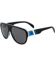 Cebe Miami czarne niebieskie 1500 szara Flash lustrzane okulary