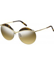 Marc Jacobs Panie Marc 102-S j5g gg złote srebrne lustrzane okulary