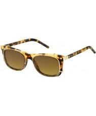Marc Jacobs Marc 17-s U63 vo Hawana złote okulary