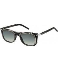 Marc Jacobs Marc 17-s Z07 ur czarne okulary palladu