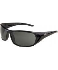 Bolle Blacktail błyszczące czarne okulary spolaryzowane TNS