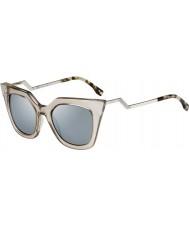 Fendi Iridia ff 0060-s MSQ 3u kryształowe okulary