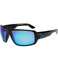 Cebe Maori błyszczące czarne niebieskie okulary