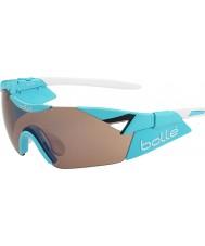Bolle 6th Sense s błyszczące niebieskie okulary modulator wzrosła gun
