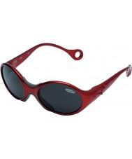Cebe 1973 (w wieku 1-3) błyszczące czerwone rubidowe 2000 szare okulary