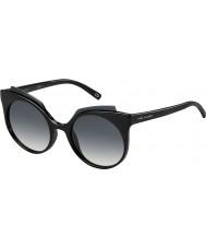 Marc Jacobs Panie Marc 105-S D28 9o błyszczące czarne okulary