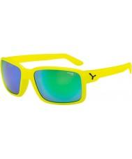 Cebe Stary żółty neon zielone okulary