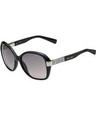 Jimmy Choo Alana-S D28 pań UE błyszczące czarne okulary