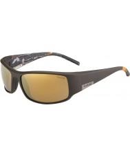 Bolle Król Maciuś brązowy morze śródlądowe złote okulary spolaryzowane