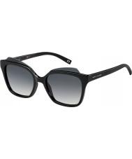 Marc Jacobs Panie Marc 106-S D28 9o błyszczące czarne okulary