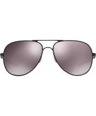 Oakley Oo4119-05 Elmont M i L czarny matowy - Prizm dzienne spolaryzowane okulary