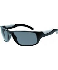 Bolle Vibe błyszczące czarne okulary TNS