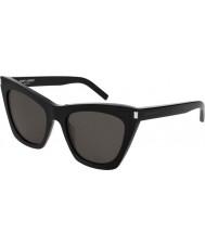 Saint Laurent Panie sl 214 kate 001 55 okulary przeciwsłoneczne