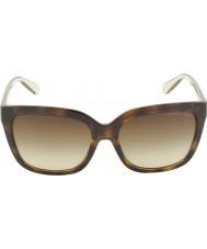 Michael Kors Mk6016 54 glam szylkret smokey przezroczyste 305413 okulary
