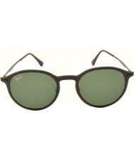 RayBan Rb4224 49 tech promień światła matowe czarne okulary 601s71