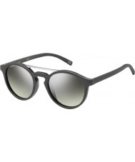 Marc Jacobs Marc 107-s DRD Gy ciemnoszary srebrne lustro okulary