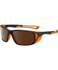 Cebe Proguide czarny matowy pomarańcz 2000 brązowy Flash lustrzane okulary