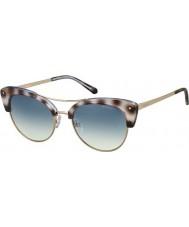 Polaroid pld4045-S Women MSS Z7 czarny Havana złota miedzi spolaryzowane okulary
