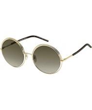 Marc Jacobs Panie Marc 11-s APQ ha złota ciemne okulary Hawanie