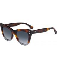 Fendi Damskie ff 0238-s ab8 9o okulary przeciwsłoneczne