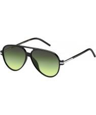 Marc Jacobs Marc 44-S D28 Ib błyszczące czarne okulary