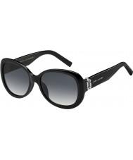 Marc Jacobs Panie Marc 111-s 807 9o czarne okulary