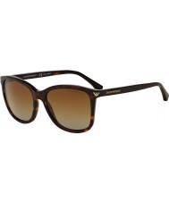 Emporio Armani Ea4060 56 niezbędna rozrywka Havana 5026t5 spolaryzowane okulary