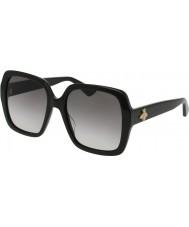 Gucci Kobiety gg0096s 001 okulary przeciwsłoneczne