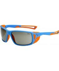 Cebe Proguide matowe niebiesko pomarańczowe variochrom szczytowe okulary