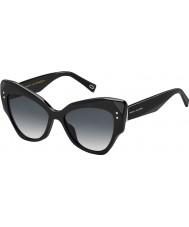 Marc Jacobs Panie Marc 116-s 807 9o czarne okulary