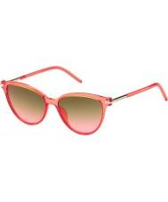 Marc Jacobs Panie Marc 47-s tot fx koralowe okulary