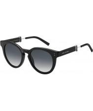 Marc Jacobs Panie Marc 129-s 807 9o czarne okulary