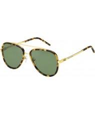 Marc Jacobs Mężczyźni marc 136-s LSH dj zauważony Havana złote okulary