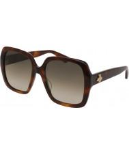 Gucci Kobiety gg0096s 002 okulary przeciwsłoneczne