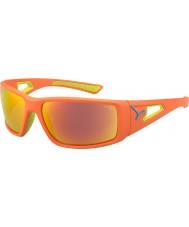 Cebe Sesja wapno pomarańczowy 1500 szare lustrzane pomarańczowe okulary