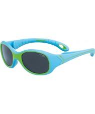 Cebe S-Kimo (wiek 1-3) niebieskie zielone okulary