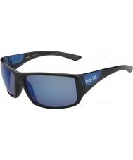 Bolle Wąż tygrysi błyszczące czarnym matowym niebieskim morzu niebieskie okulary polaryzacyjne