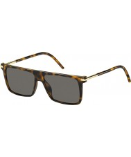 Marc Jacobs Mężczyzna Marc 46-S TLR 8h Hawana okulary