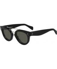 Celine Panie cl 41043-s 807 1e czarne okulary