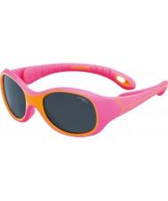 Cebe S-KIMO (wiek 1-3) fuksja pomarańczowe okulary