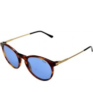 Polo Ralph Lauren Ph4096 50 classic flair paski Havana 500772 okulary