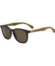 HUGO BOSS Mężczyźni Boss 0843-S RBG ec czarne brązowe okulary